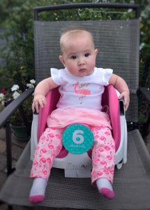 Baby L – 6 months